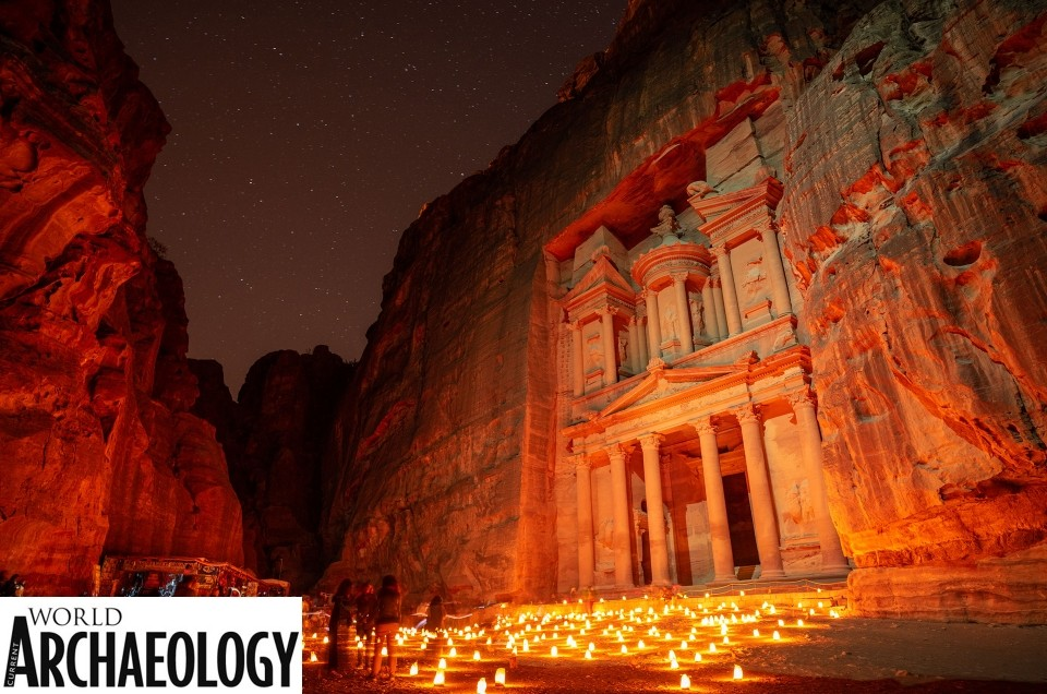 Current World Archeology Awards 2019 Petra by CandleLight Enrico Pescantini