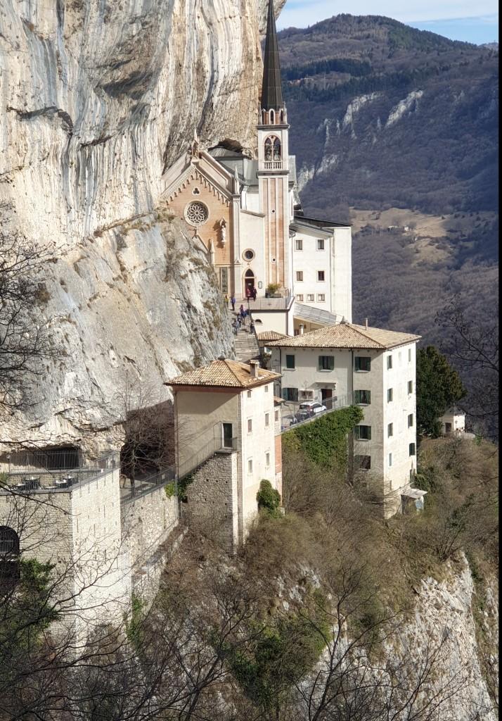 Santuario Madonna della Corona hermitage 2