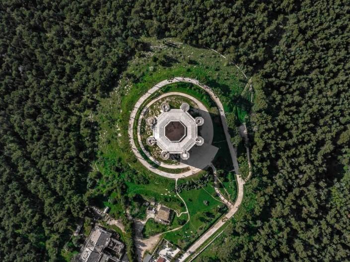 best of puglia Castel Del Monte Drone Aerial View 2