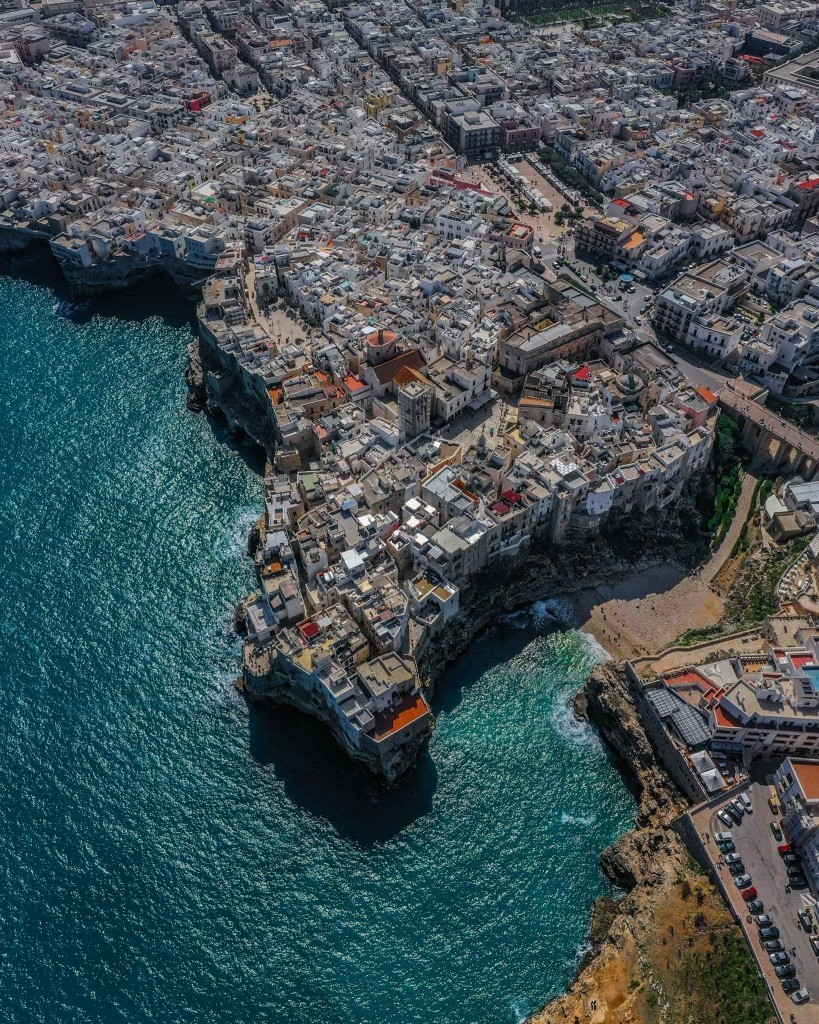 Polignano a Mare Drone View