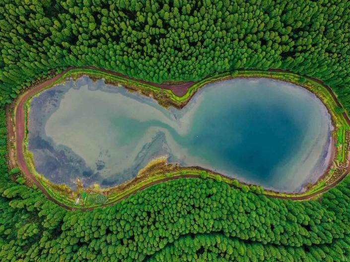 Azores Sao Miguel Azores Lagoa das Empadadas