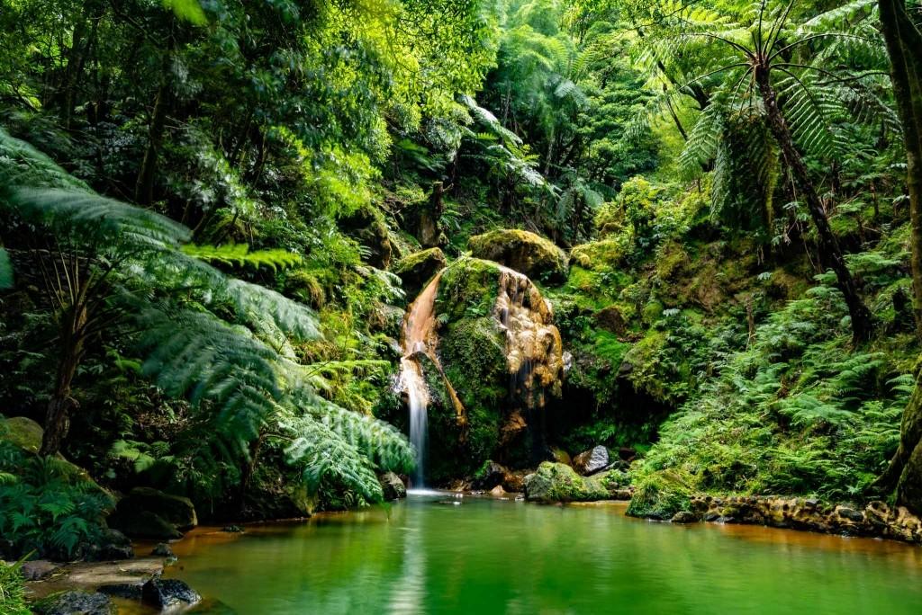 Azores Sao Miguel Caldeira Velha