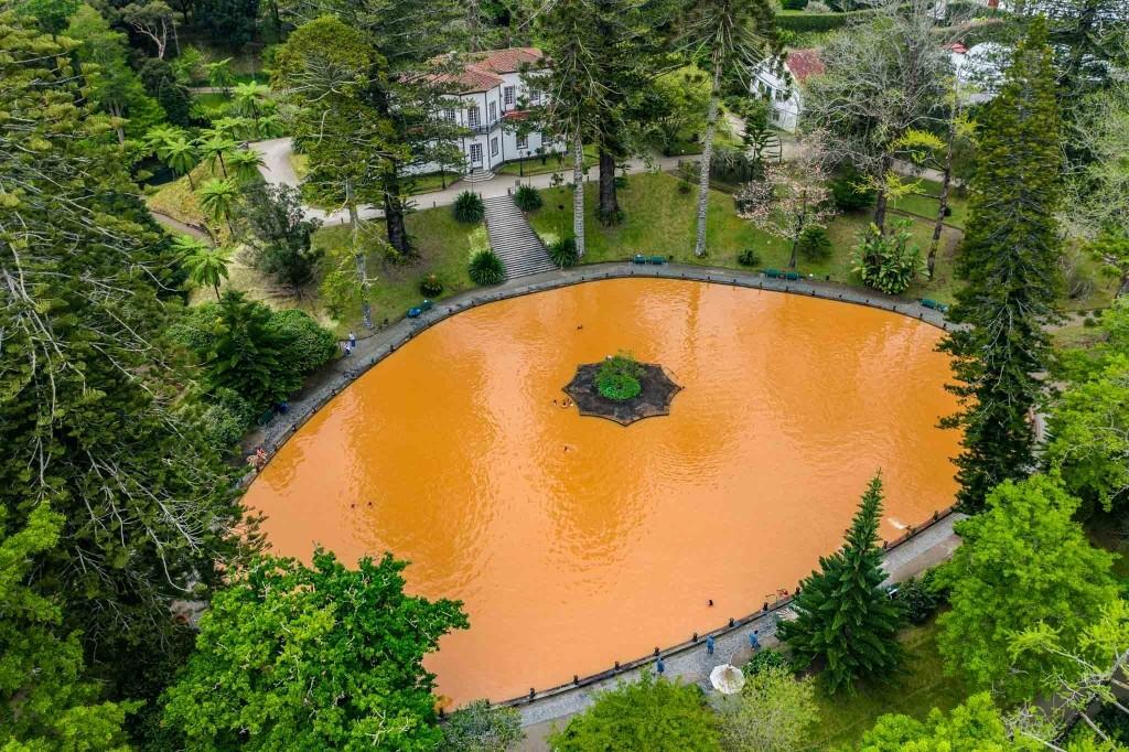 terra nostra garden hotel furnas sao miguel azores