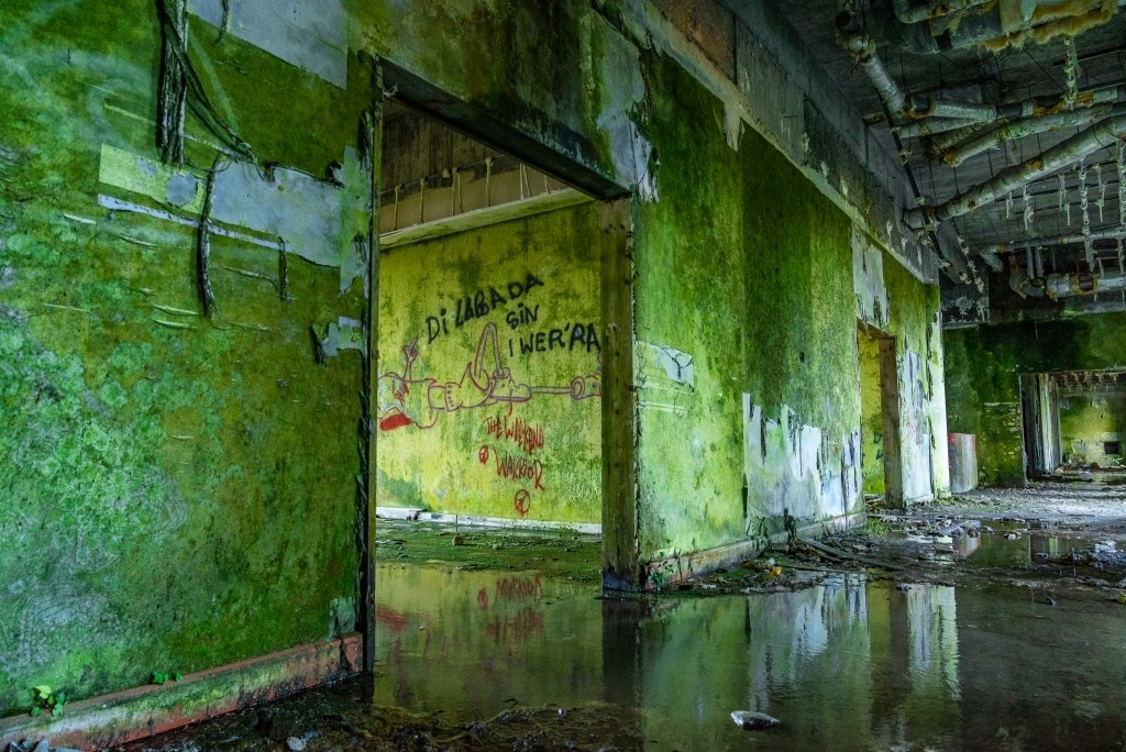 Azores Sao Miguel abandoned Hotel abandonado Monte Palace 2