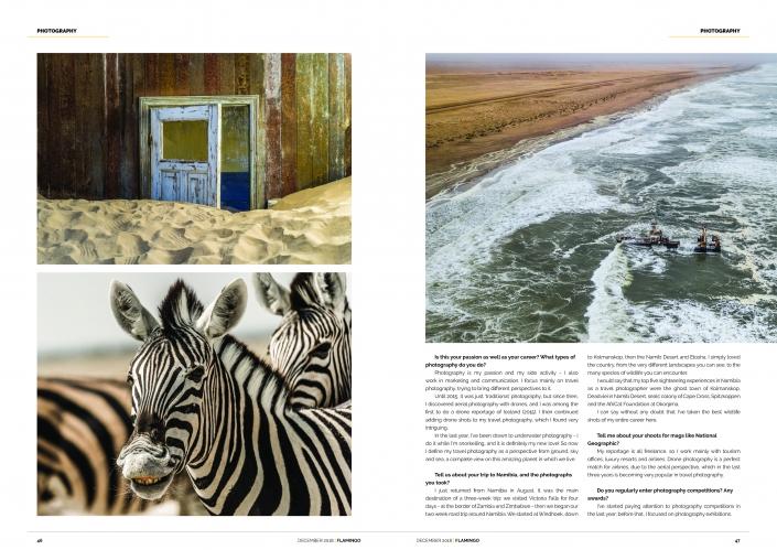 Flamingo Air Namibia Enrico Pescantini Travel Photographer 2