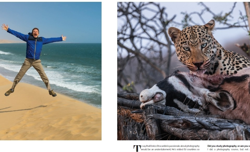 Interview on Flamingo – Air Namibia's inflight magazine