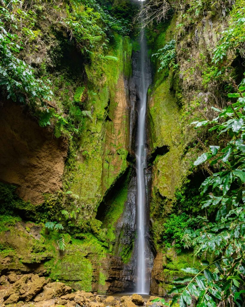 Cascata do Rosal Furnas waterfall