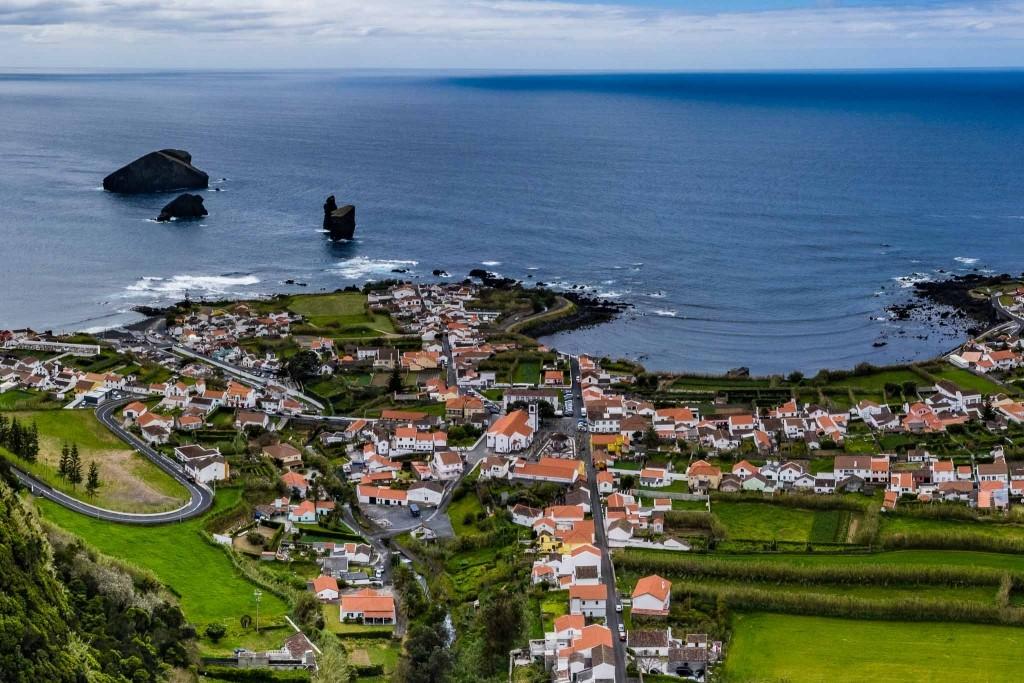 Azores Sao Miguel Mosteiros town