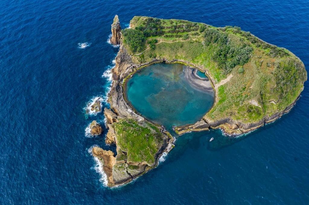Azores Sao Miguel Azores Islet of Vila Franca do Campo 2