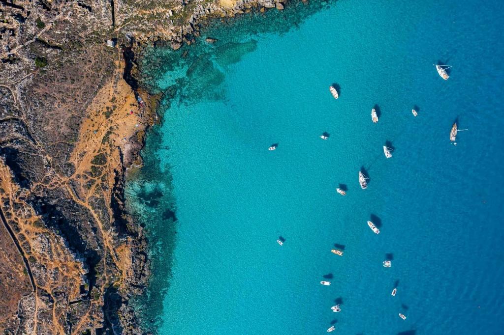 Favignana Cala Rossa Drone Foto Aerea 2