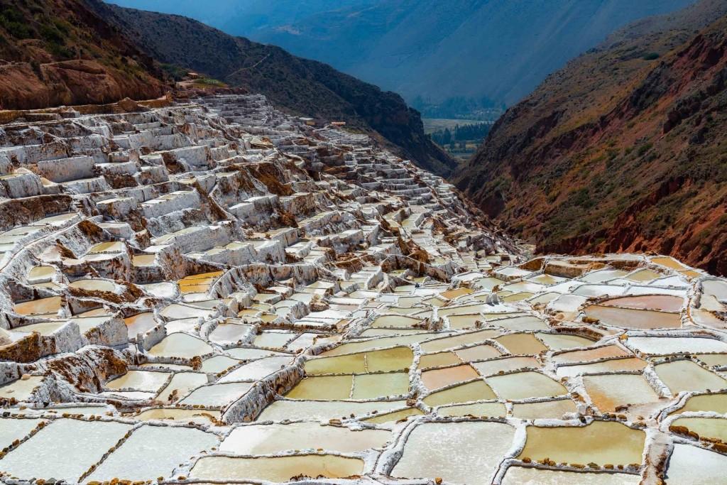 salinas de maras cusco peru sacred valley