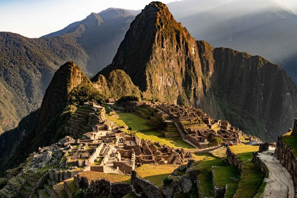Machu Picchu Cusco Peru sunrise