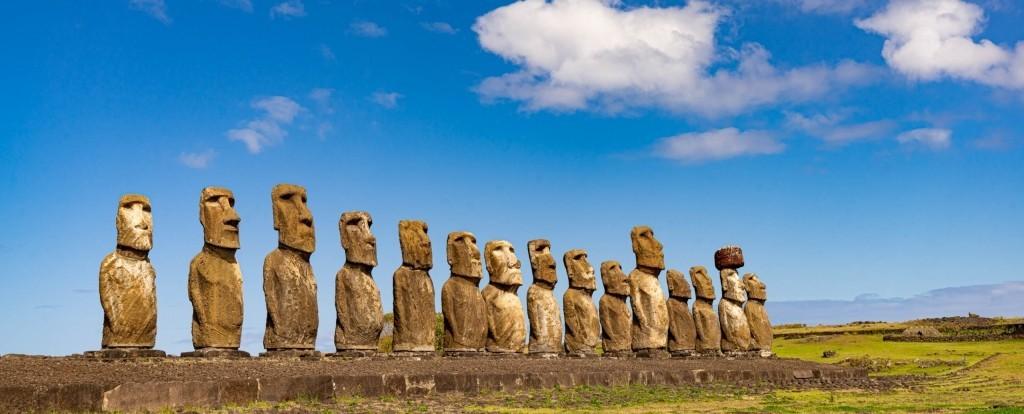 easter island rapa nui Ahu Tongariki