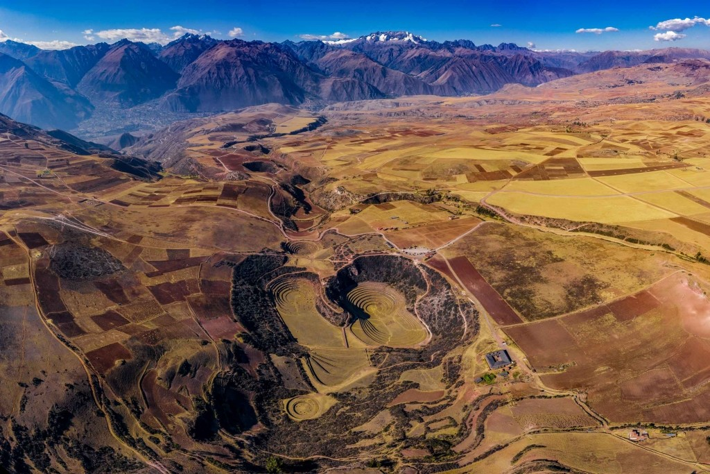 Moray Inca Ruins Sacred Valley Cusco Peru