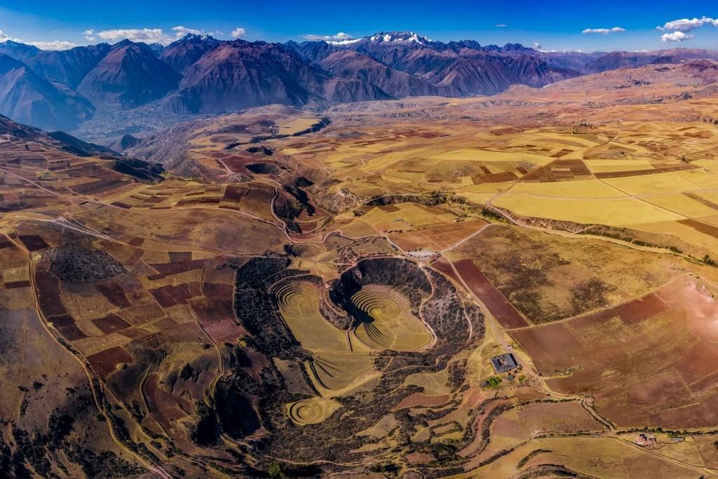 Moray Inca Ruins Sacred Valley Cusco Peru
