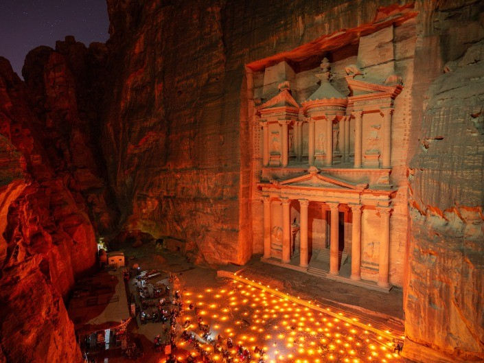 Petra New 7 wonders of the world