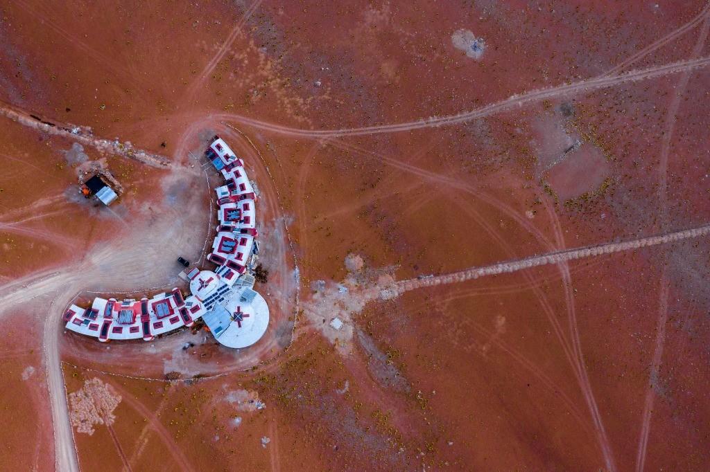 tayka desierto bolivia drone aerial photo 2