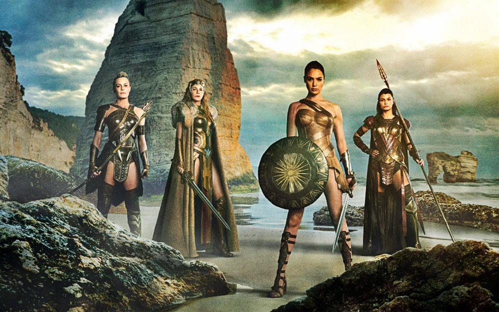 Wonder Woman Pizzomunno