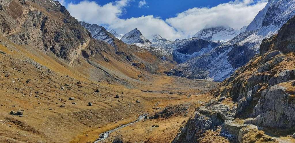 gran paradiso national park valsavarenche landscape