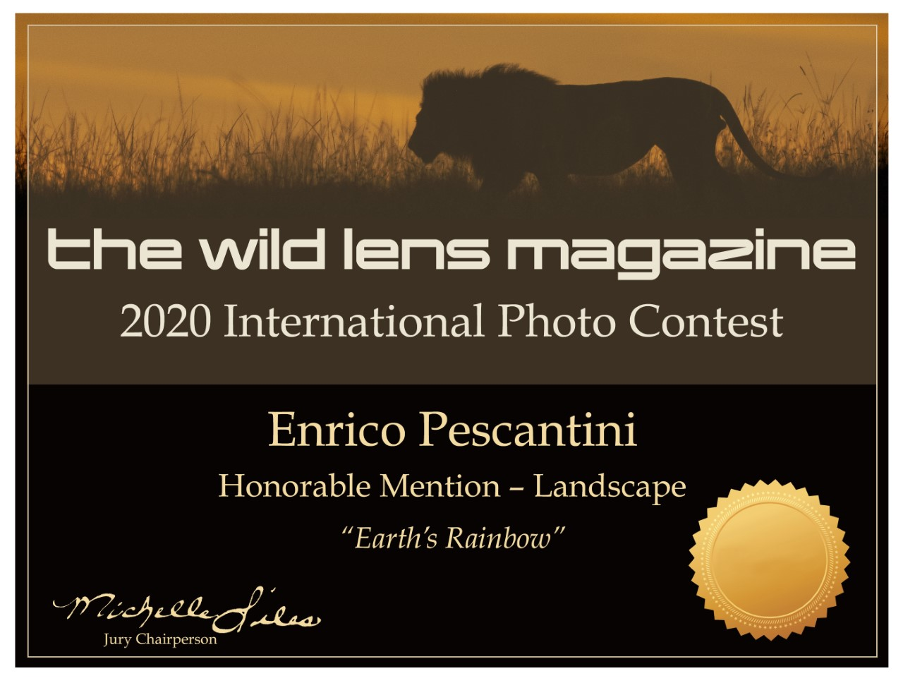 the wild liens magazine honorable mention pescantini