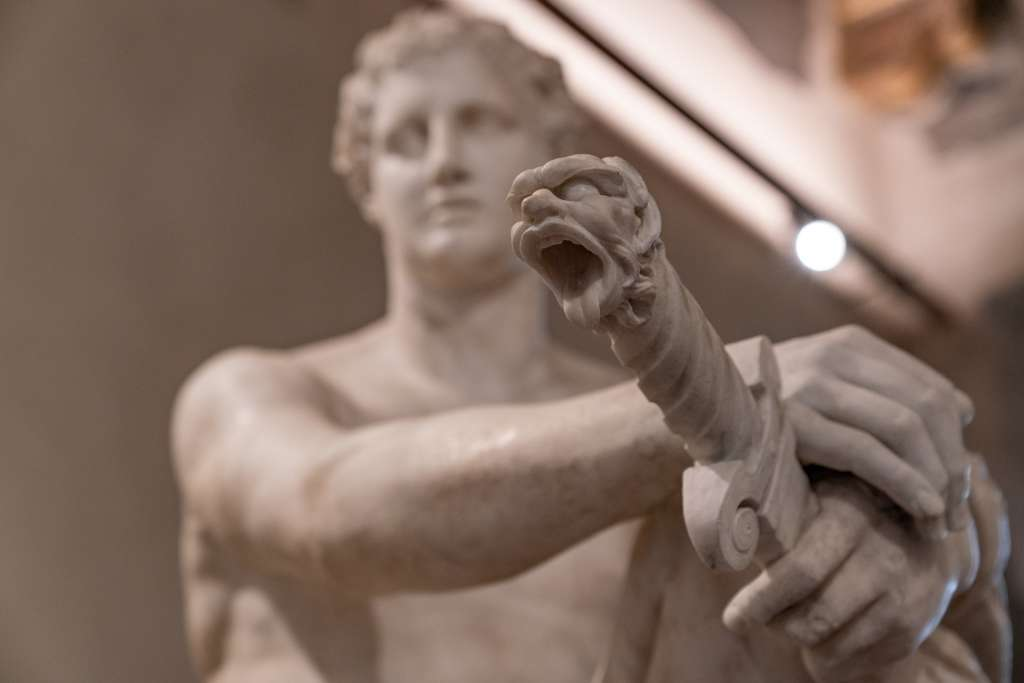 ancient rome statue of Ares