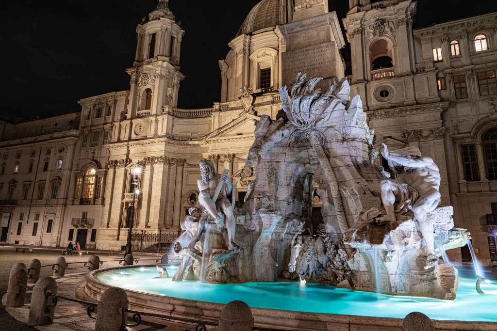 fountain of the four rivers bernini