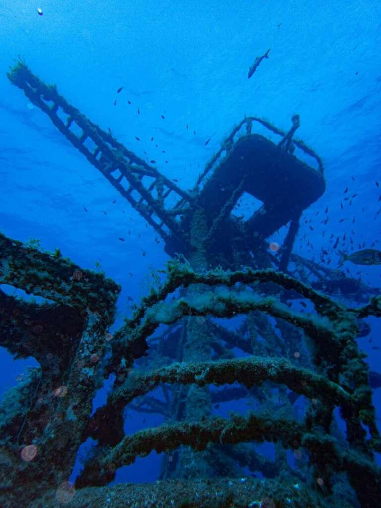 Ship wreck Corveta Afonso Cerqueira madeira scuba diving