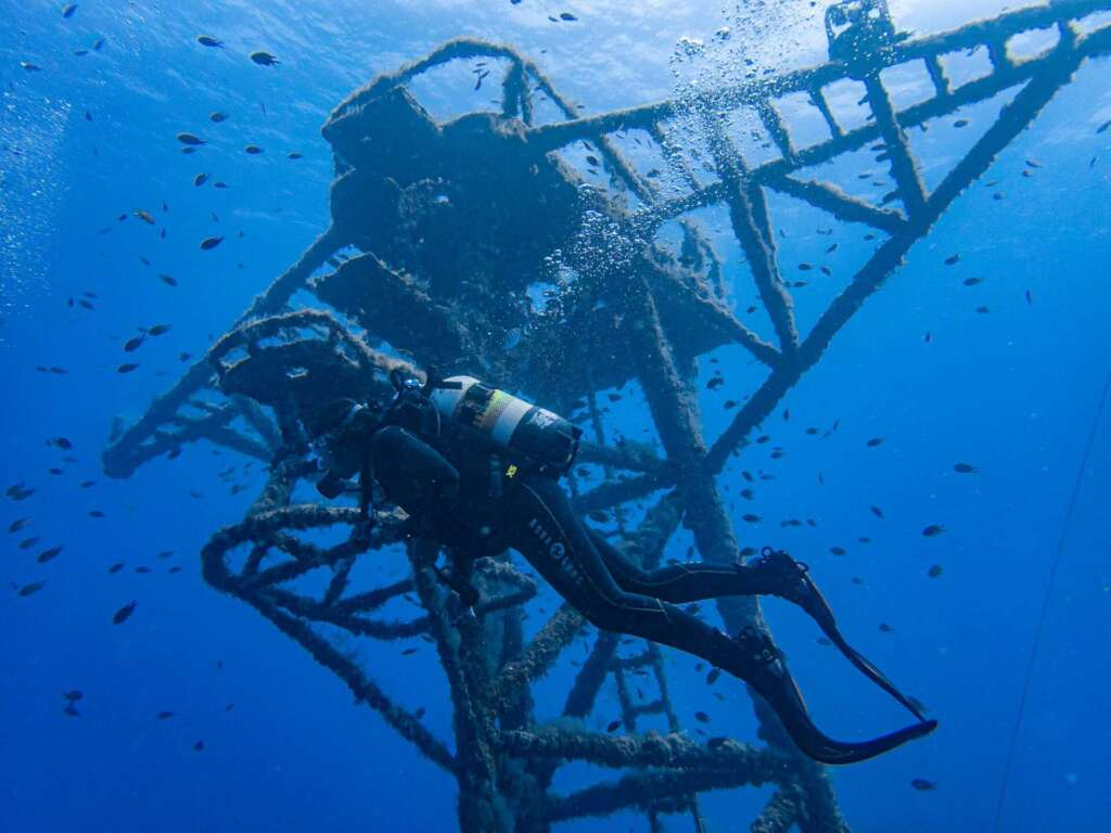Corveta Pereira Wreck Porto Santo dive