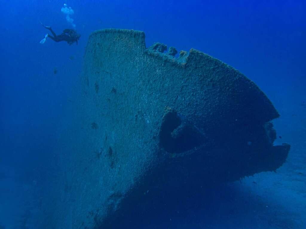 Ship Wreck of the Madeirense Porto Santo Madeira diving